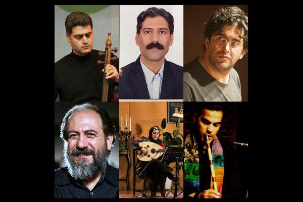 معرفی هیات انتخاب اجراهای صحنهای جشنواره موسیقی کلاسیک ایرانی